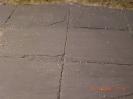 Details der Betonplatten
