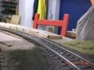Der linke Abschluß des äußeren Bahnsteigs.