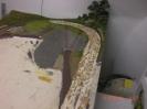 Die Hauptstrecke im hinteren Teil ist zurückgebaut.