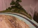 Die Kurve vorm Hügel. Deutlich sichtbar ist größere Radius im Vergleich zum Oval.