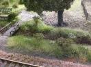 der Entwässerungsgraben