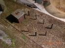 Der Kohlebansen entsteht zunächst aus Schienenprofilen.