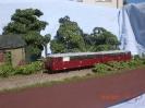 Am 10.09.2011 zum Tag der offenen Tür des Wittenberger Modellbahnclubs wurde das Diorama ausgestellt. Hier mit der