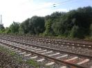 Als Teil des Klein Wittenberger Bahnhofs gibt es hier drei Gleise.