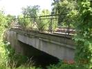 Die Ausführung der Brücke und auch des Geländers unterscheiden sich von der südliche Seite.