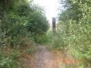 Der Weg zurück zum alten Dorf.