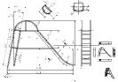 Die Zeichnung zur Rutsche