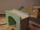 Die fertig geritzte Brücke.
