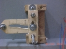 Erster Prototyp aus Sperrholz.