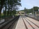 Bahnhof Baabe mit Blick in Richtung Putbus